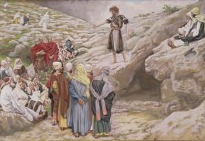 Джеймс Тиссот. Иоанн Креститель и фарисеи_(1)