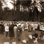 Их Императорские Величества обходят представительниц инородцев Тамбовской губернии 17 июля 1903