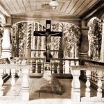 Камень, на котором преп. о. Серафим молился 1000 ночей.