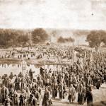 Крестный ход из Серафимо-Дивеева монастыря в Саровскую пустынь 17 июля 1903 года