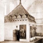 Наружный вид келлии преп. о. Серафима, в которой скончался преподобный (над келлией сооружен новый храм во имя Св. Троицы)