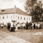 Прибытие Их Императорских Величеств в Саров 17 июля 1903 г.